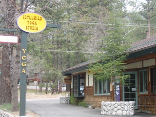 Idyllwild Yoga Studio outside